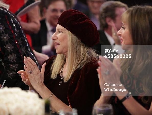 Singer Barbra Streisand