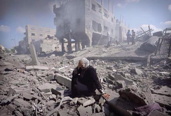 Gaza Homes Destroyed